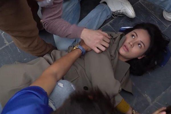 Thu Trang bị thương khi quay 'Hướng dương ngược nắng'