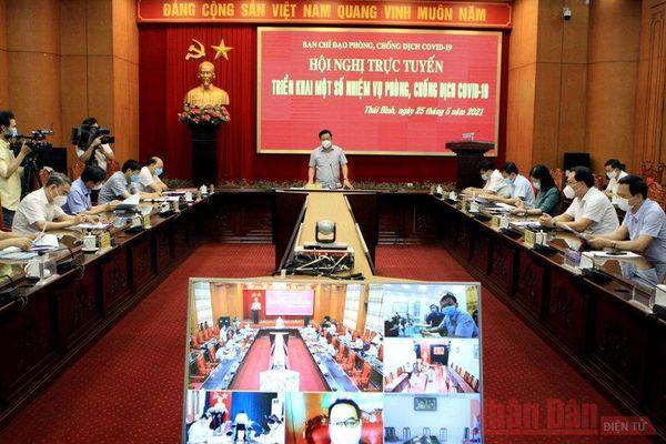 Công dân từ vùng có dịch về Thái Bình buộc phải cách ly, trả chi phí xét nghiệm