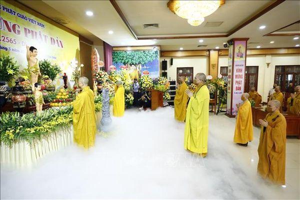 Giáo hội Phật giáo Việt Nam tổ chức Đại lễ Phật đản trang trọng, an toàn phòng dịch
