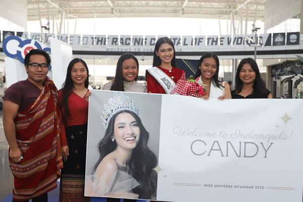 Hoa hậu Hoàn vũ Mynamar tị nạn tại Mỹ
