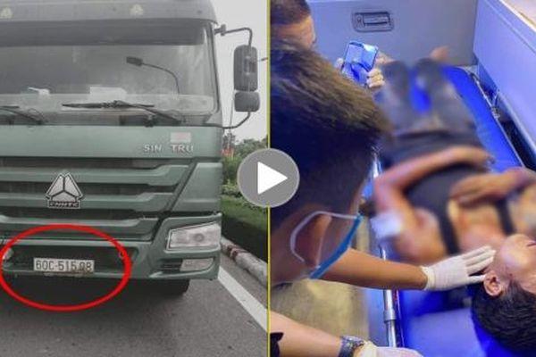 Thêm một vụ tài xế xe Ben nhất quyết không nhường đường cho xe cứu thương vượt