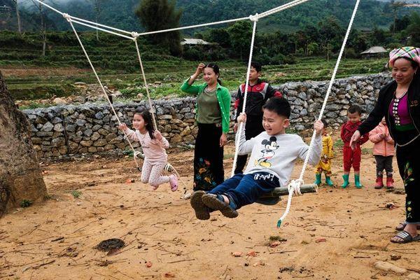 Thêm một sân chơi phiêu lưu cho trẻ em tại thung lũng Khau Phạ