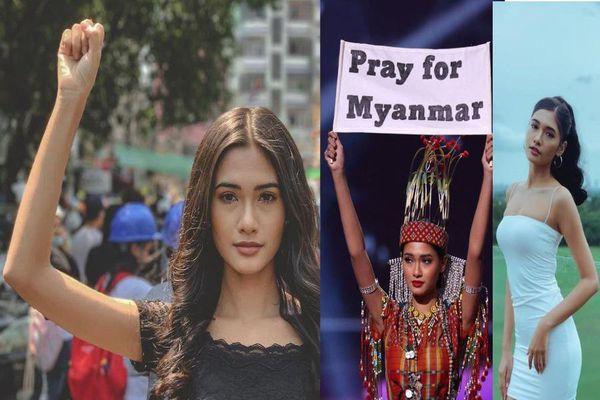 Hoa hậu Myanmar sau Miss Universe giờ ra sao?