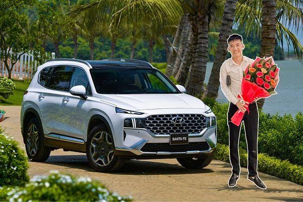 Con Bà Tân Vlog 'bán vội' Hyundai SantaFe lướt 3.000km lên đời 2021