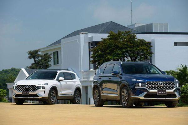 Đánh giá chi tiết Hyundai Santa Fe 2021