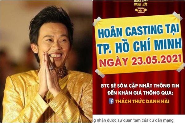 Nhà sản xuất 'Thách thức danh hài' lên tiếng việc Hoài Linh ngồi ghế nóng