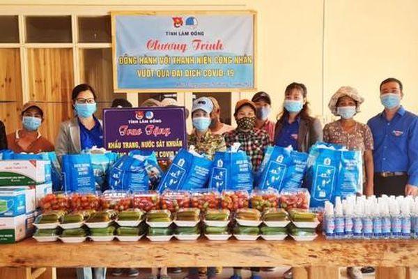 Lâm Đồng: 150 đội hình thanh niên tình nguyện phòng chống COVID-19