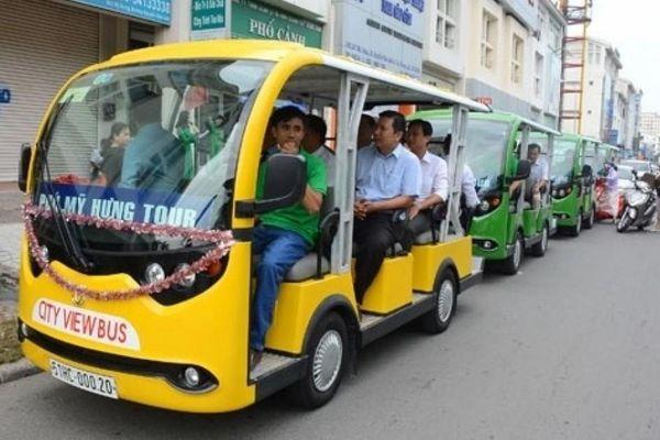 TP.HCM: 20 xe điện ở huyện đảo Cần Giờ sẽ đi qua những tuyến nào?