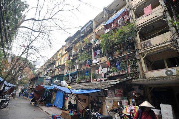 Sớm tháo gỡ 'nút thắt' trong cải tạo các chung cư cũ ở Hà Nội