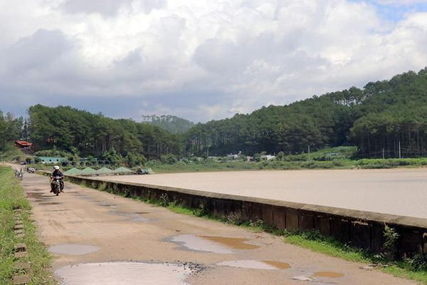 Hồ thủy lợi ở Lâm Ðồng xuống cấp nghiêm trọng