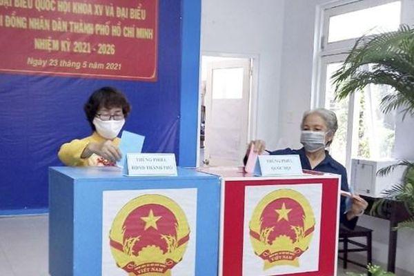 Công bố danh sách 94 người trúng cử đại biểu HĐND TP.Hồ Chí Minh nhiệm kỳ 2021-2026