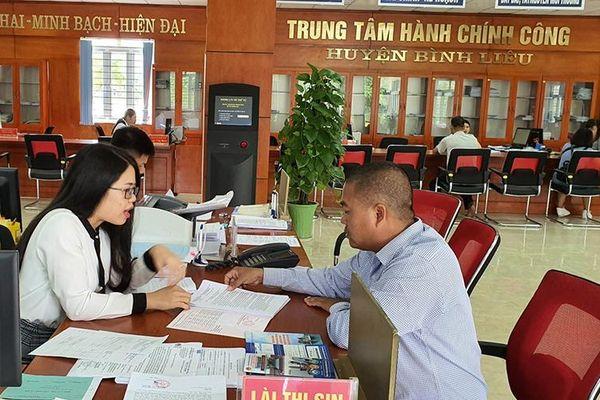 Quảng Ninh xây dựng nền hành chính phục vụ nhân dân