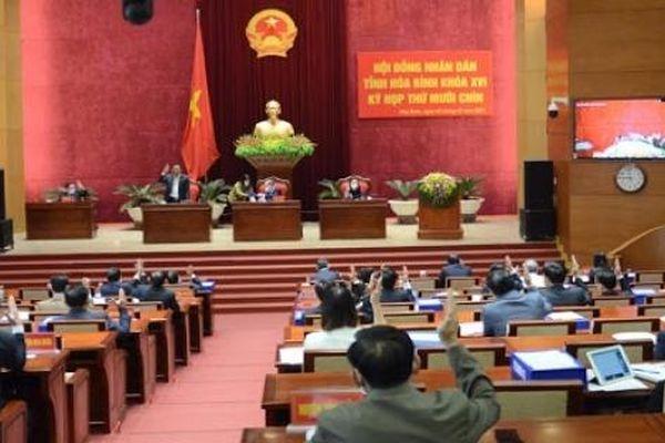 Danh sách 58 người trúng cử đại biểu HĐND tỉnh Hòa Bình nhiệm kỳ 2021-2026