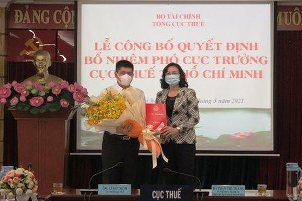 Cục Thuế TP. Hồ Chí Minh có phó cục trưởng mới