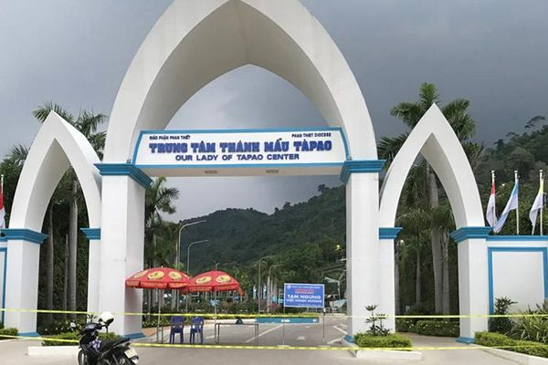 Bình Thuận phong tỏa tạm thời Trung tâm Thánh Mẫu Tà Pao để phòng, chống dịch
