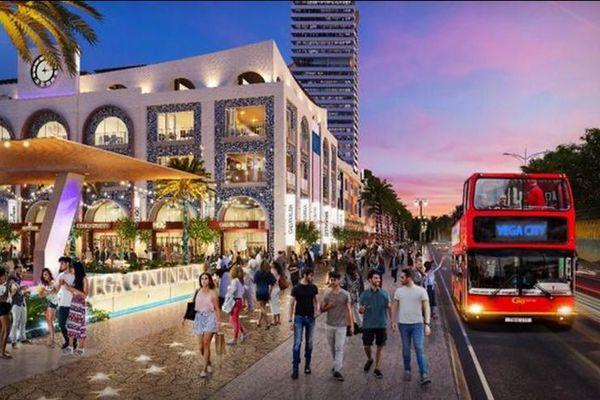 Vega Continental Shopping Plaza - Đại hải trình giữa lòng vịnh Nha Trang