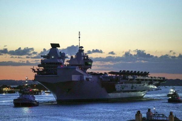 Mục đích Anh điều tàu sân bay tới châu Á