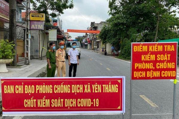 Nam Định dỡ bỏ phong tỏa ba khu dân cư