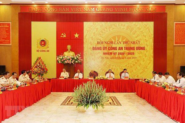 Bộ Chính trị chỉ định Đảng ủy Công an Trung ương, nhiệm kỳ 2020-2025