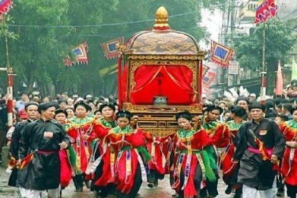Đặc sắc Lễ hội Năm làng Mọc