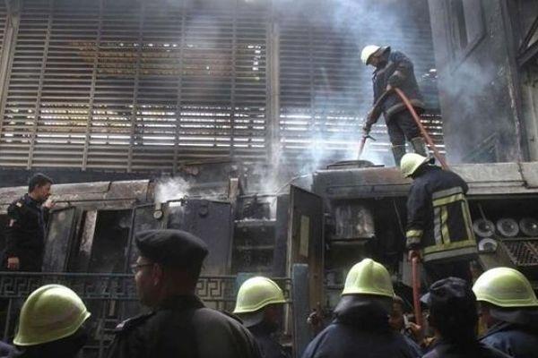 Cháy lớn tại trung tâm giáo dưỡng Ai Cập, 16 người tử vong