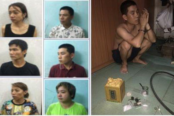 Hải Phòng: Bắt giữ nhóm đối tượng mua bán trái phép chất ma túy