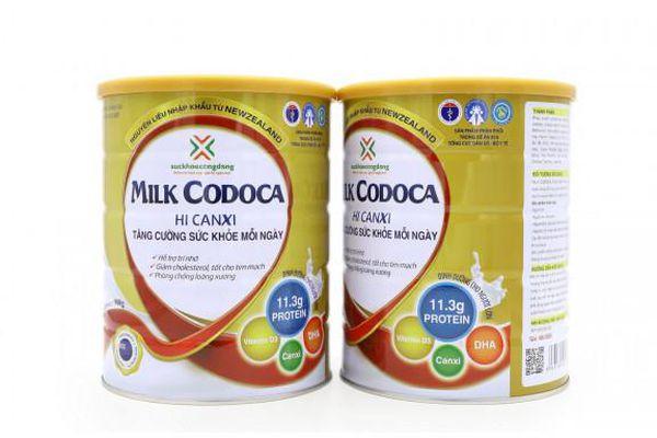 Bổ sung Thực phẩm Milk Codoca Hi Canxi vào khuôn khổ Đề án 818 của Bộ Y tế