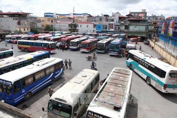 Điều chuyển hoạt động vận tải khách cố định tại bến xe Niệm Nghĩa trước tháng 9