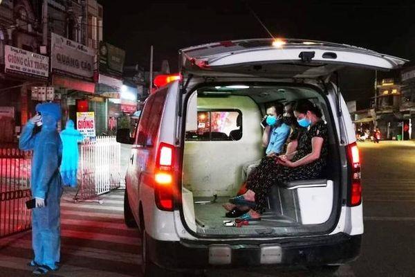 Thanh Hóa: Phong tỏa tạm thời 57 hộ dân khu vực có ca tái dương tính COVID-19