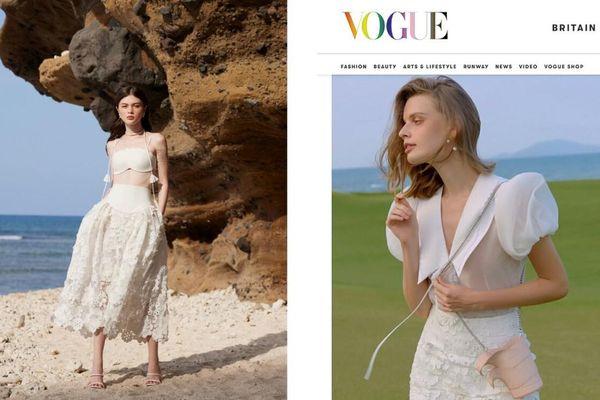 Sáng tạo của NTK Việt được vinh danh trên Vogue Anh