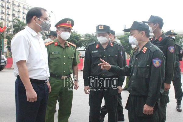 Cảnh sát cơ động tăng cường về Bắc Giang: Bám trụ địa bàn, hiệp đồng chặt chẽ