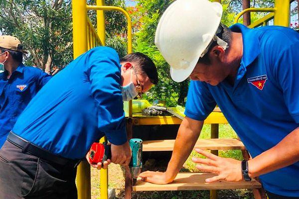 Nhiều phần việc ý nghĩa, thiết thực của tuổi trẻ Bình Thuận trong Chiến dịch Thanh niên tình nguyện hè