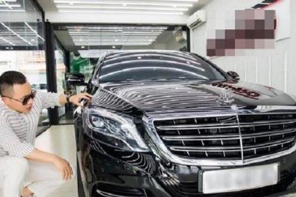 Khám phá Maybach S500 trị giá 12 tỷ đồng của 'ông bầu' Vũ Khắc Tiệp