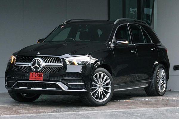 Mercedes-Benz GLE lắp ráp Thái Lan, bản máy dầu 300d bán 3,8 đồng
