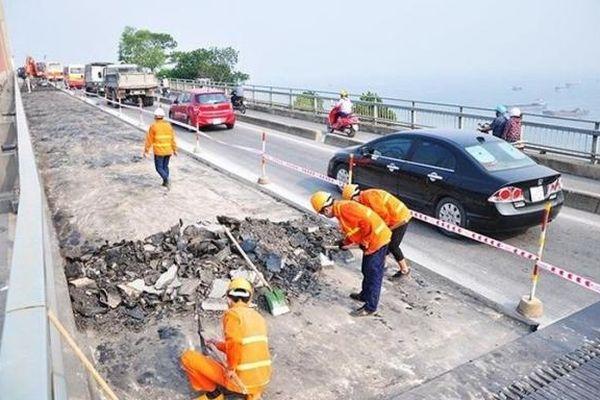Hà Nội: Phân luồng giao thông phục vụ sửa chữa khẩn cấp Chằm Mè