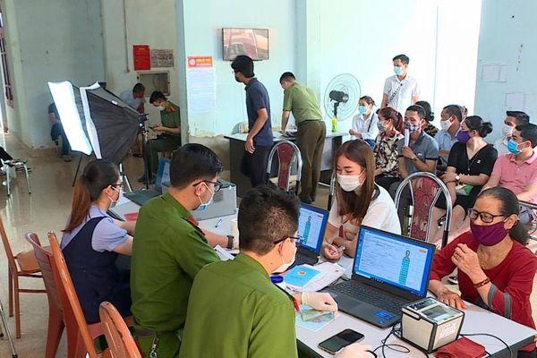 Thành phố Sơn La hoàn thành cấp căn cước công dân
