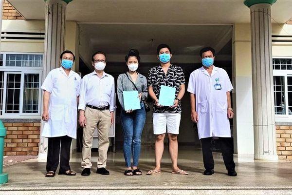 Hai bệnh nhân mắc Covid-19 ở Đắk Lắk đã được xuất viện