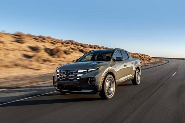 Hyundai Santa Cruz 2021 'uống' chỉ 8,7 lít nhiên liệu cho 100 km