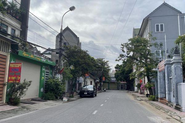 TP. Hà Tĩnh: Đường phố vắng tanh, người dân đóng kín cửa thực hiện cách ly xã hội