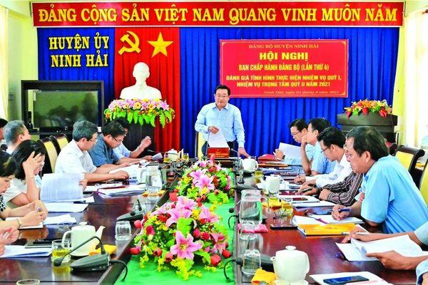 Huyện Ninh Hải: Phát huy lợi thế kinh tế biển