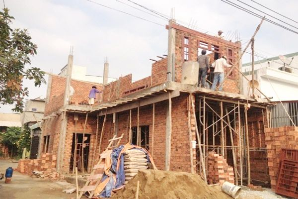 Lưu ý khi xây, sửa nhà trong mùa mưa