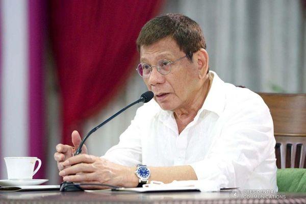 Ông Duterte nói không tranh cử phó tổng thống để tránh tiếng ham quyền lực