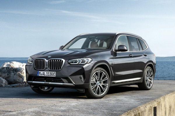 BMW X3 2022 được trang bị gì để cạnh tranh Mercedes GLC?