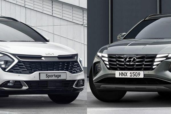 Hyundai Tucson 2021 và Kia Sportage 2022 - đột phá phân khúc SUV C