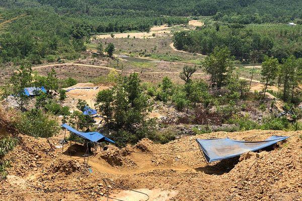 Quảng Nam: 'Vàng tặc' lại chiếm lĩnh Bồng Miêu