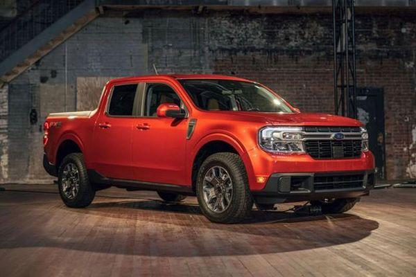 Bán tải Ford Maverick 2022 'chốt giá' hơn 460 triệu đồng