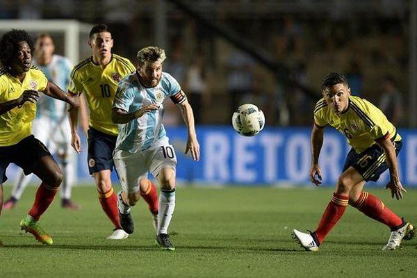 Trực tiếp Colombia vs Argentina: Vũ công tango gặp khó