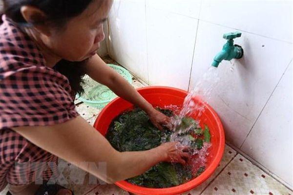 Hà Nội: Thiếu nước sạch cục bộ ở một số khu vực trong mùa nắng nóng