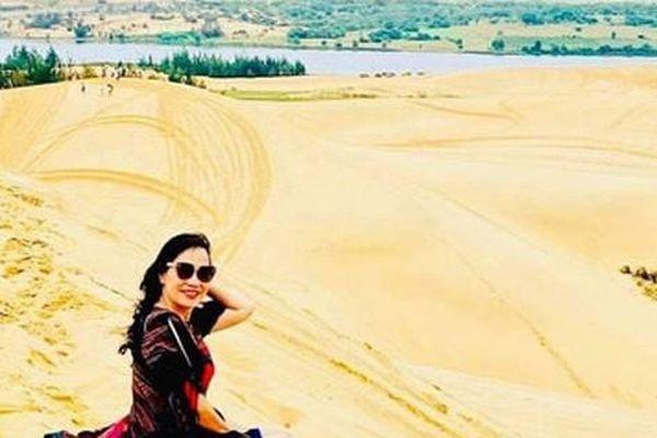 Bàu Trắng - 'ốc đảo xanh giữa sa mạc'