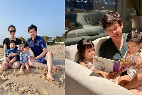 Hoa hậu Đặng Thu Thảo đăng ảnh hạnh phúc chúc mừng sinh nhật chồng